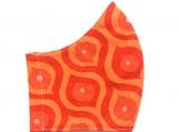 Orange Retro Print