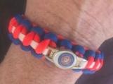 Paracord bracelet Coast Guard