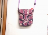 Rose and Floral Crossbody messenger purse