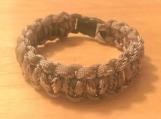 Survival bracelet - beige camo