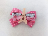 Tour Eiffel Hair Bow
