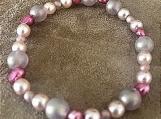Bracelet - beaded glass