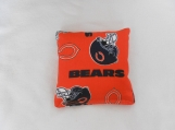 Orange Chgo Bears Corn Hole Bags