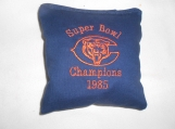 Chicago Bears Super Bowl 1985  Embroidered  Corn hole Bags