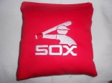 Chicago Sox Embroidered  Corn hole Bags