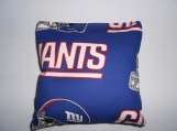 N Y Giants Corn hole Bags