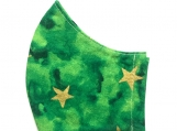 Green & Gold Star Mask