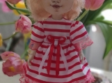 Hand-Crafted Doll Martha