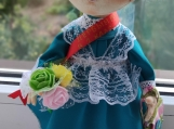 Hand-Crafted Doll Natasha-First Grader