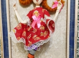 Hand-Crafted Doll Pippi Longstocking