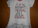 I Get all MY Attitude from everyone I'm related to t Shirt