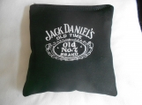Black Jack Daniels Embroidered Corn hole Bags