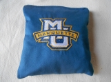 Marquette University  Embroidered  Corn hole Bags