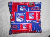 NY Rangers Hockey Corn hole Bags
