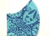 Periwinkle & Turquoise Mask