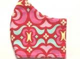 Pink Garden Maze Mask