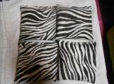 Zebra Cornhole Bags