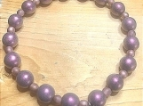 Bracelet - lavender charm