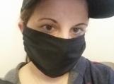 5 pack,adult reusable face mask,black,handmade,washable,cotton dust mask,quarantine birthday gift.lightweight fabric,handmade.