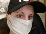 5 pack,light grey face mask, dust mask,.quarantine birthday gift