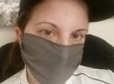 5 pack,adult reusable face mask,dark green,handmade,washable,cotton dust mask,.quarantine birthday gift.lightweight,handmade.