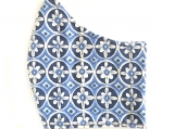 Blue Turkish Tile Mask