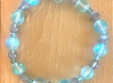 Bracelet - turquoise glass