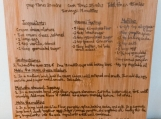 Custom Engraved Family Recipe Cutting Board,wedding Gift, Handwritten Recipe Cutting Board,gift for mom,Grandmother's Recipe Cutting Board