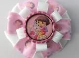 Dora Pink Hair Bow