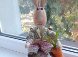 Hand-Crafted Toy Rabbit