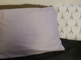 lavender,organic cotton pillow, cases set of 2,linen pillow,body pillow case,pillow cover,organic,made in Canada,various colors,handmade,