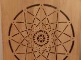 mandala engraved cutting board,bamboo cutting board,kitchen decor,woodburning art,cooking gift,birthday gift,anniversary,wedding gift,bride