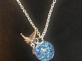 Necklace - blue shimmer