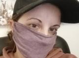 purple face masks,5 pack,adult reusable face mask,blue,handmade,washable, dust mask,quarantine birthday gift.lightweight fabric,handmade.