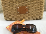 Sunglass Case - Orange