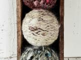 Country Dryer Balls- set of 3, Natural Fibres