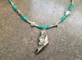 Abalone Sea Life Pendant Necklace