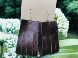 Bag Earrings With Slits
