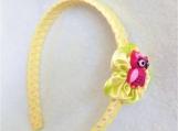Children Yellow Owl Headband