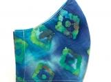 Cool Tones Diamonds Batik Mask