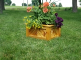 Custom Cedar Raised Planter