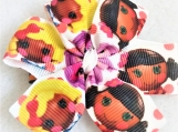 Doll's faces children hair bow