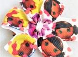 Doll's faces children hair clip