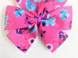 Fairy purple children hair bow