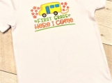 School T-shirt Here I Come size small (6-7 years old)