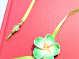 Green Flower Bookmark