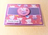 Happy Hugs Bear Greeting Card