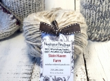 Mohair & Wool Fibre Country Blend Yarn Cake