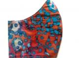 Multi Color Splatter Batik Mask
