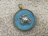 Ocean Life Pendant Turtle #3108